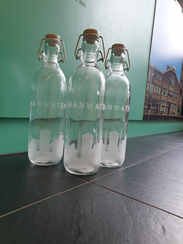 Zaanwater fles